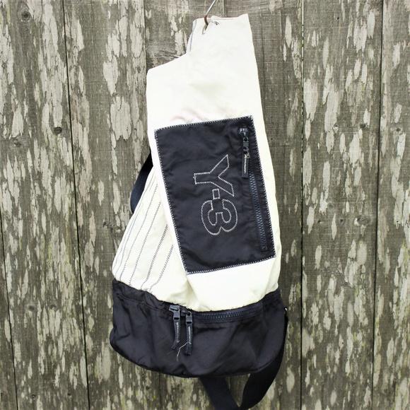 0f48b77ef Adidas Yohji Yamamoto Y-3 Bucket Gym Side Bag